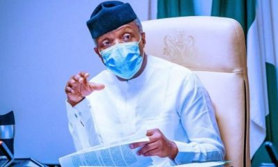 FG Will Support Research Any Possible COVID-19 Treatment Drug - Osinbajo