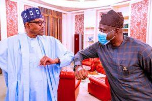 buhari and makinde 300x200 - What I Discussed With President Buhari – Makinde