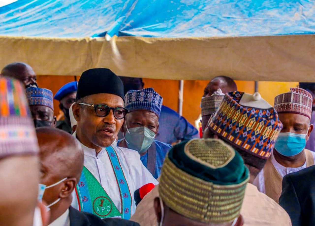 Why Buhari Removed His Face Mask In Daura - Onochie
