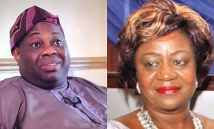 "dele momodu and lauretta onochie1 780x470 1 300x181 - ""Scavengers Who Litter Govt Offices"" – Dele Momodu Drags Buhari's Aide On Twitter"