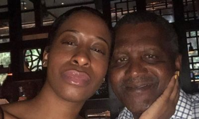 A lady identified as Bea Lewis has claimed she had dated Nigerian businessman and the richest man in Africa, Aliko Dangote.