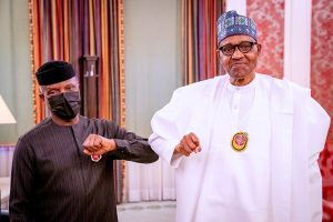 osinbajo buhari1 300x200 - Buhari, Osinbajo, Others To Receive COVID-19 Vaccine On Live TV