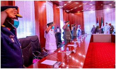 Details Of Buhari's Meeting With New Service Chiefs Emerge