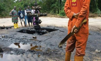 BREAKING: Dutch Court Orders Shell To Pay Nigerian Farmers Over Oil Spills