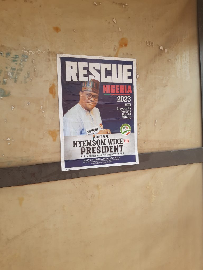 wike a - 2023: Wike's Presidential Campaign Posters Emerge (Photos)