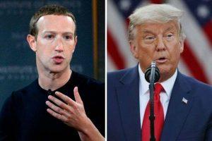 zuckerberg vs trump 300x200 - Trump Banned From Facebook, Instagram Until His Tenure Ends – Zuckerberg