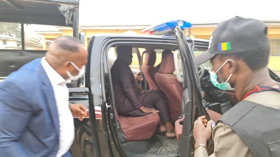 5 4 - Breaking: Senator Okorocha Arrested By Police (Photos)
