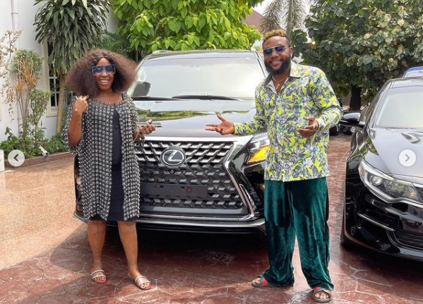 602ea0499008a - E-Money Presents Luxury Cars To His Friends On His Birthday (Photos)