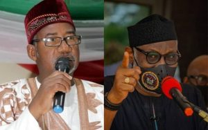 AKEREDOLU AND BALA MOHAMMED 300x188 - Herdsmen Don't Need Akeredolu's Permission To Live In Forests – Bauchi Governor
