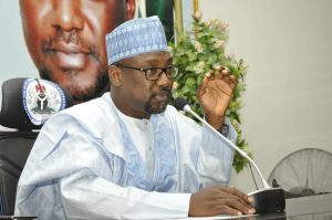 Abubakar Bello 300x199 - Kidnapped Kagara Staff And Students Yet To Be Released – Gov Bello