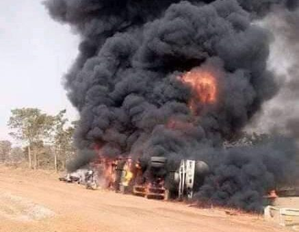 An oil tanker exploded in the Gawu area of ​​the Federal Capital Territory, Abuja