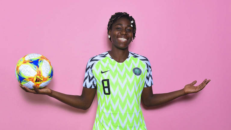 Asisat Oshoala Named Best African Woman Player Of The Decade