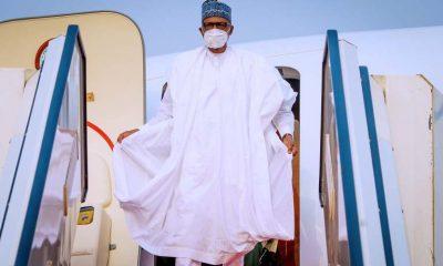 BREAKING: Buhari Returns To Nigeria After Medical Trip To London