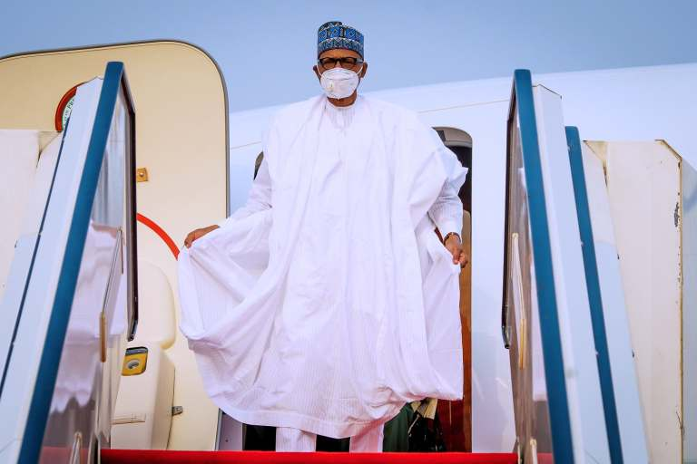 BREAKING: Buhari Returns To Nigeria After Medical Trip To London