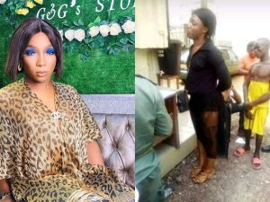 Cameroon Crossdresser 300x225 - Video: Cross Dresser, Two Others Sentenced To Prison Over Homosexuality