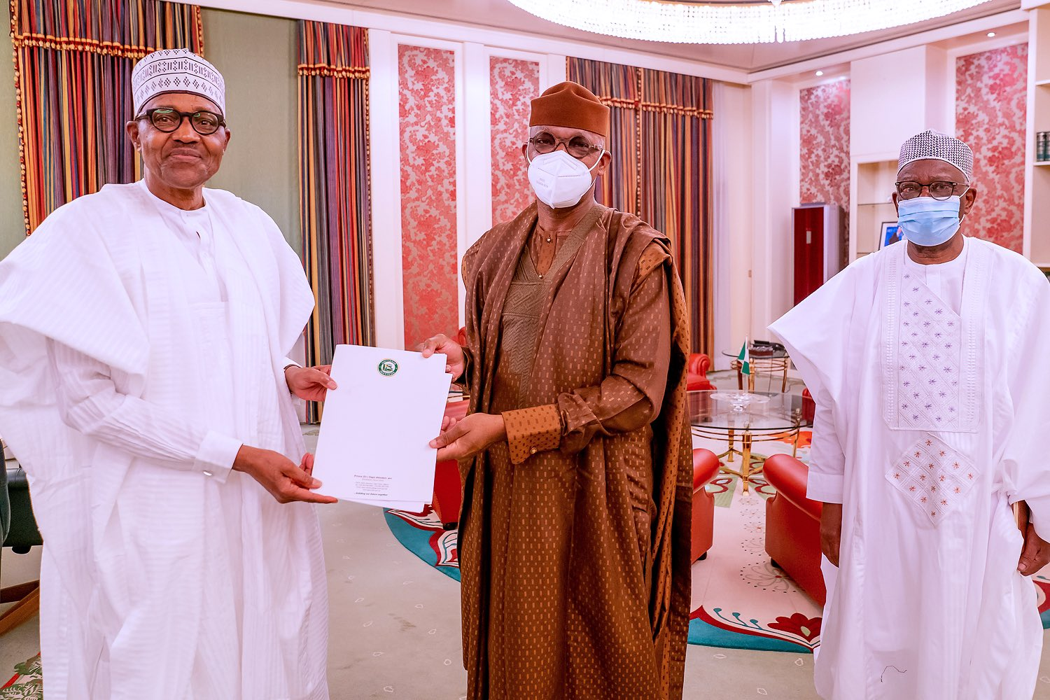 Dapo Abiodun 2 - Abiodun Presents Ogun Farmers-Herders Crisis Report To Buhari (Photos)