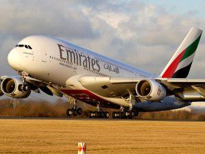 Emirates plane 300x225 - Again, Emirates Airlines Suspends Flights From Nigeria