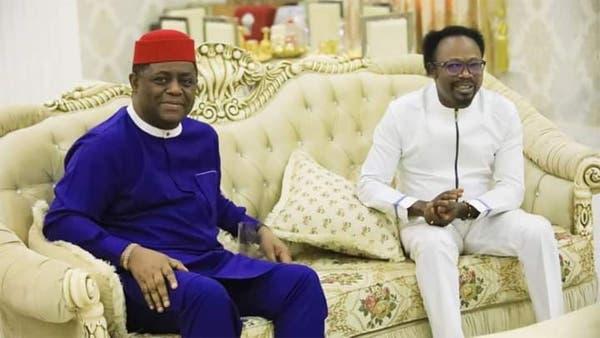 'Iginla Is God's End Time General' - Fani-Kayode Meets Popular Pastor