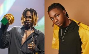 FIREBOY OMAHLAY 300x181 - Fireboy Wins Big, Omah Lay Emerges Next Rated In Headies Awards [Full List]