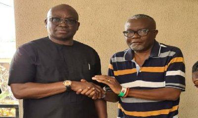 Ekiti Guber: Fayose Drops Eleka, Endorses Kolawole For Governor