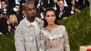 Kanye and Kim 300x168 - Kim Kardashian Files For Divorce From Kanye West