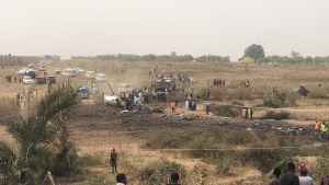 Military plane crash in Abuja airport 300x169 - Names Of Air Force Officers Killed In Abuja Plane Crash Revealed