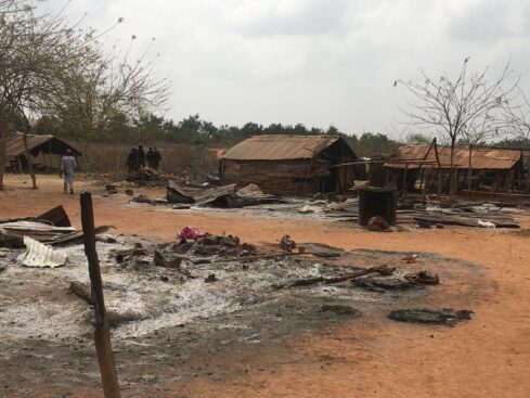 Ogun Fulani community2 - JUST IN: Miyetti Allah Accuses Sunday Igboho Of Burning Down A Fulani Community In Ogun (Photos)