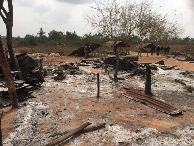 Ogun Fulani community3 - JUST IN: Miyetti Allah Accuses Sunday Igboho Of Burning Down A Fulani Community In Ogun (Photos)