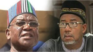 Ortom and Mohammed 300x169 - Bauchi Governor Should Apologize To Nigerians – Samuel Ortom