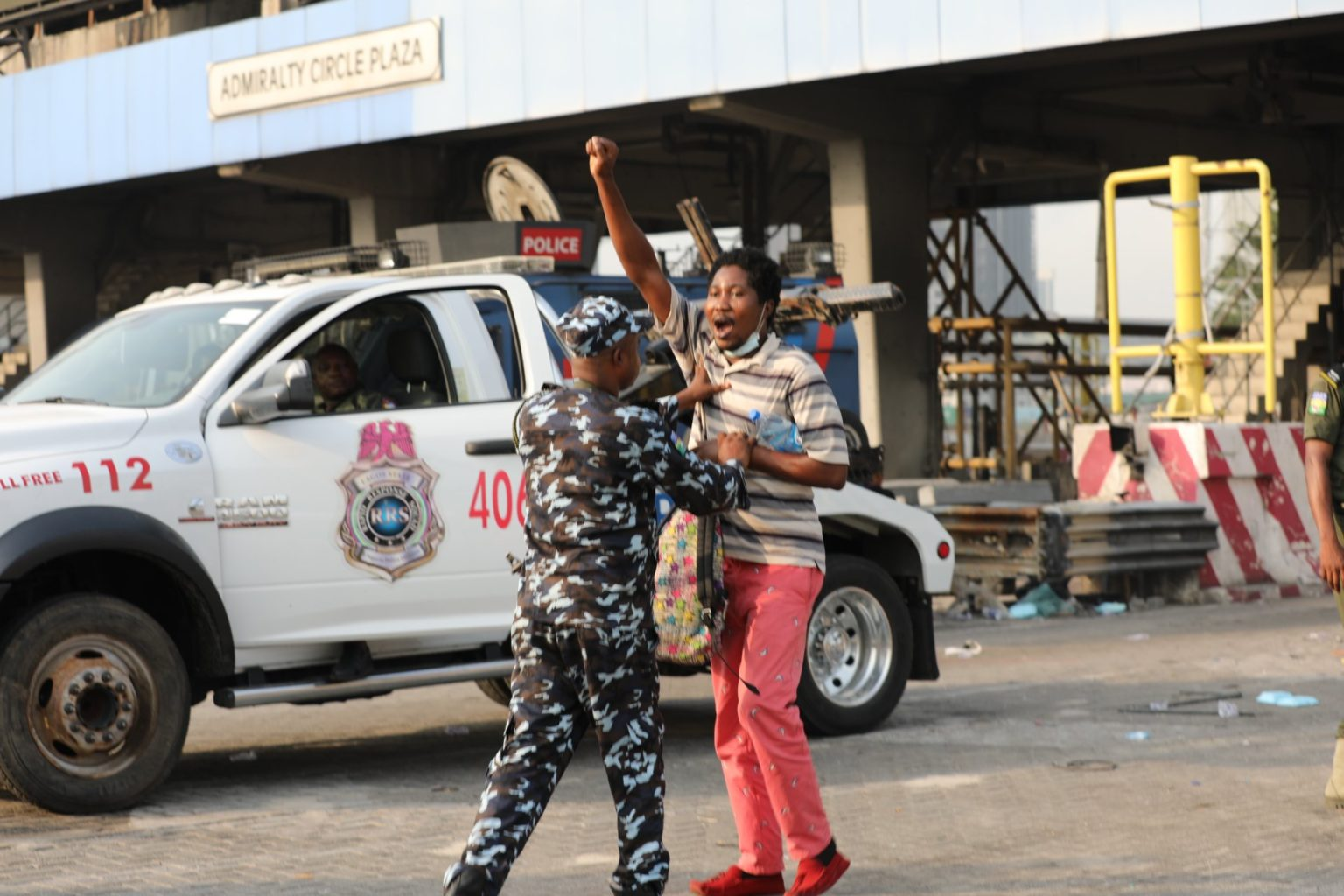 Protesters arrested2 1 - Highlight Of Lekki Toll Gate Protest (Photos)