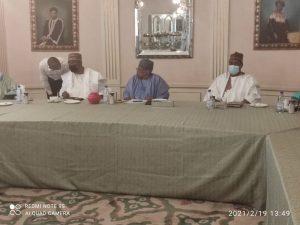 Saraki leads PDP to meet Babangida 300x225 - Saraki Leads PDP Committee To Meet With Babangida In Minna