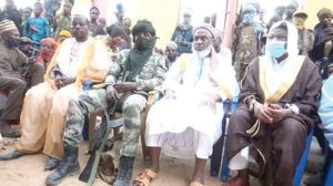 Sheik Gumi visits bandits 300x168 - Gumi Finally Exposes Herdsmen, Says 10% Of Them Are Criminals, Tells Govt What To Do