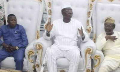 JUST IN: Sunday Igboho Meets Gani Adams [Photos]