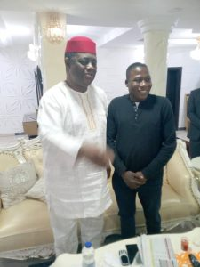 Sunday Igoho and FFK 225x300 - Herdsman Killings: Fani-Kayode Meets Sunday Igboho [Photos]