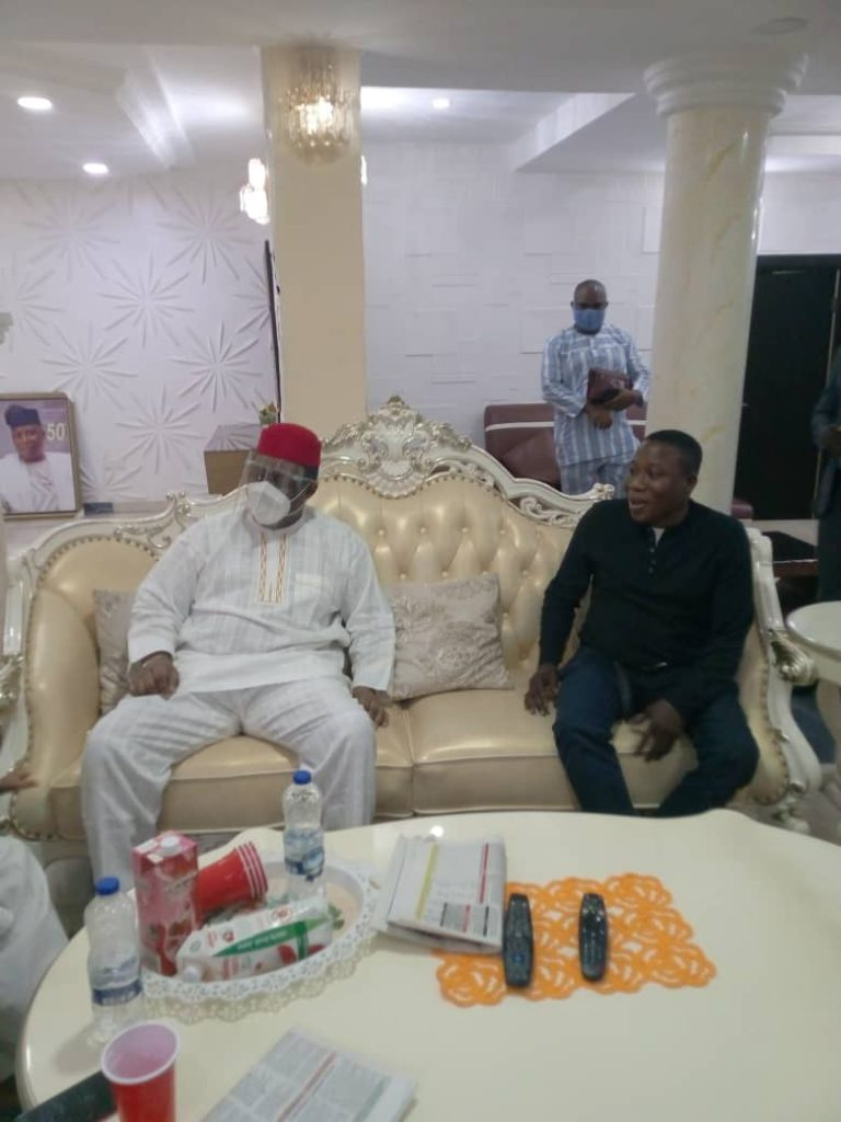 Sunday Igoho and FFK2 768x1024 - Herdsman Killings: Fani-Kayode Meets Sunday Igboho [Photos]