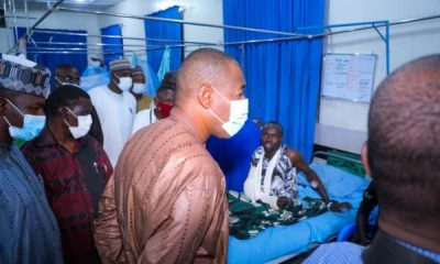 What Zulum Said During Visit To Maiduguri Blast Victims