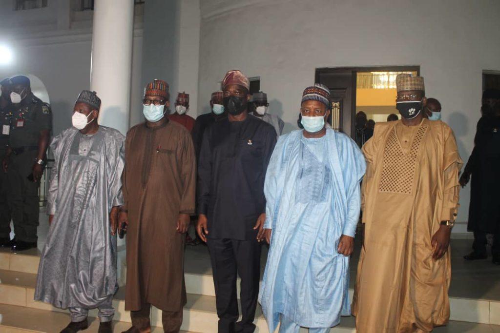 makinde - Atiku, Ganduje, Others Meet Makinde Over Shasha Crisis [Photos]