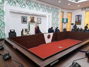 oyo 300x225 - BREAKING: Buhari's CoS, DSS, IGP Adamu, Makinde, Others Attend Security Meeting [Photos]