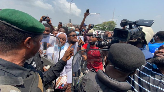 protest - Highlight Of Lekki Toll Gate Protest (Photos)