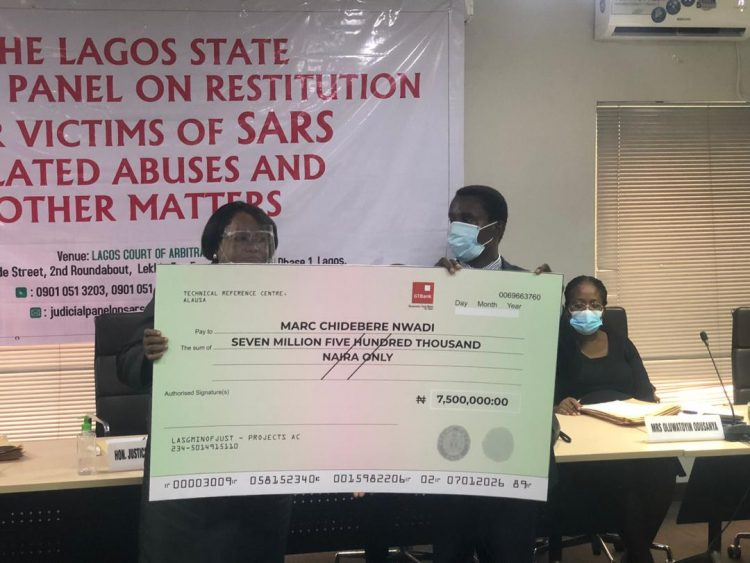 Lagos Judicial Panel Awards N7.5m To Victim Of Police Brutality