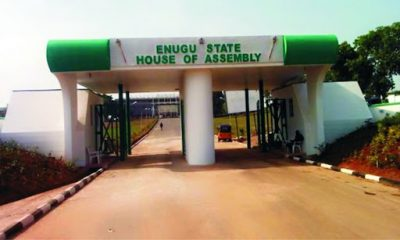 Enugu Assembly Steps Down Life Pension Bill For Ex-Governors