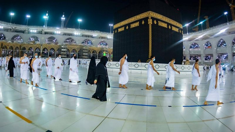 Foreigners could not perform Hajj in 2020 due to the COVID-19 pandemic