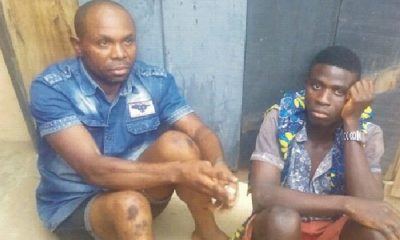 Amotekun Arrest Two Suspected Gay Men In Ondo