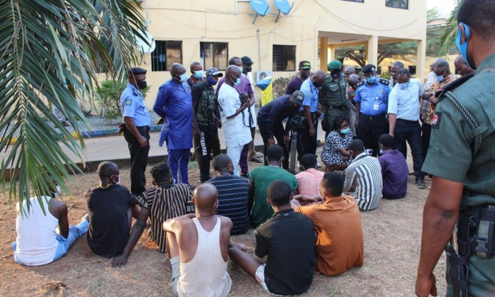 Police Arrest 11 Suspected Ritual Killers With Human Skull In Delta