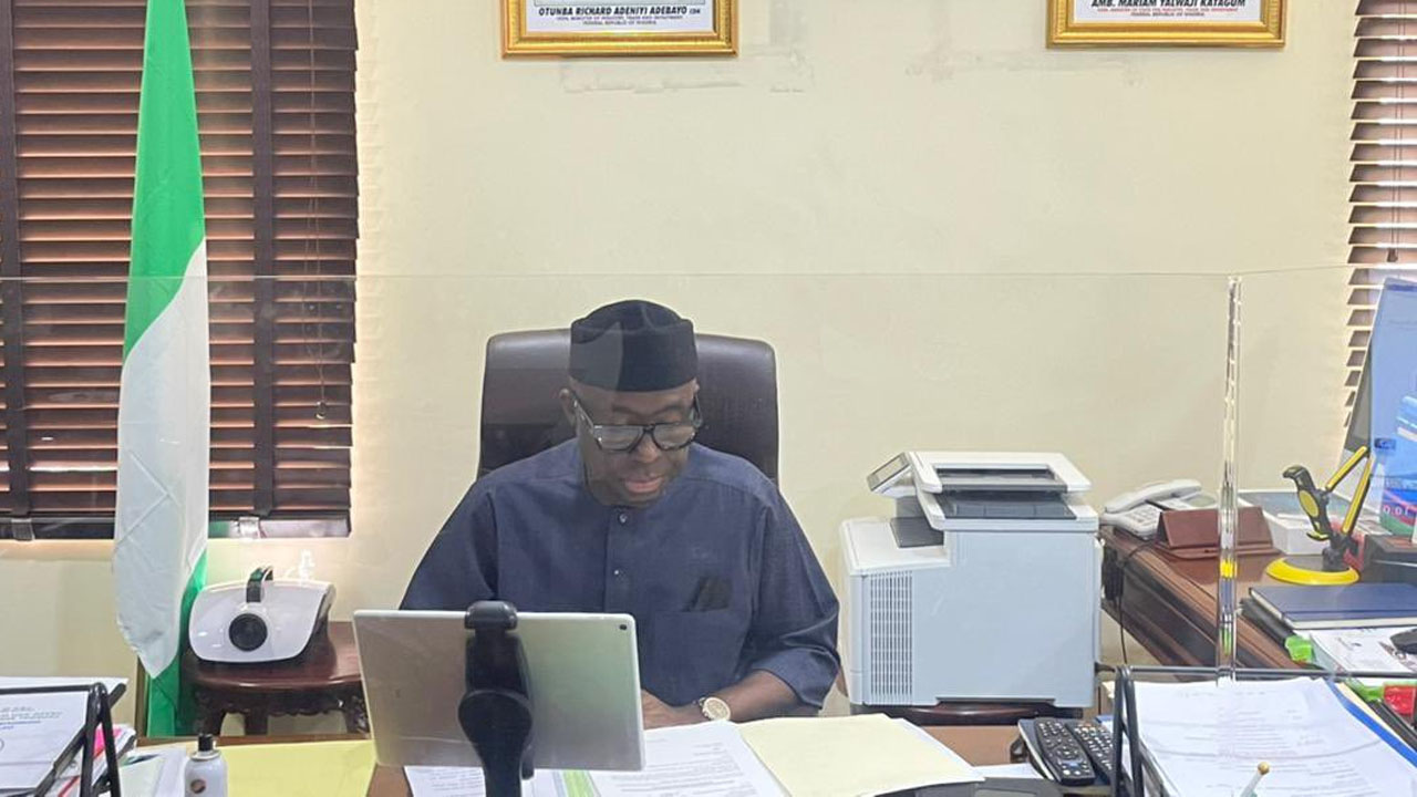 Minister of Industry, Trade and Investment, Otunba Niyi Adebayo