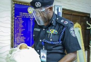 Lagos Police Commissioner Adopts New Born Baby