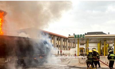 Petrol Tanker Explosion Rocks Ogun