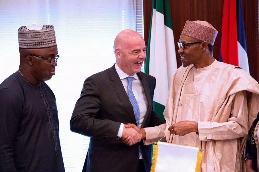 Buhari Reacts To Amaju Pinnick's Election Into FIFA Council
