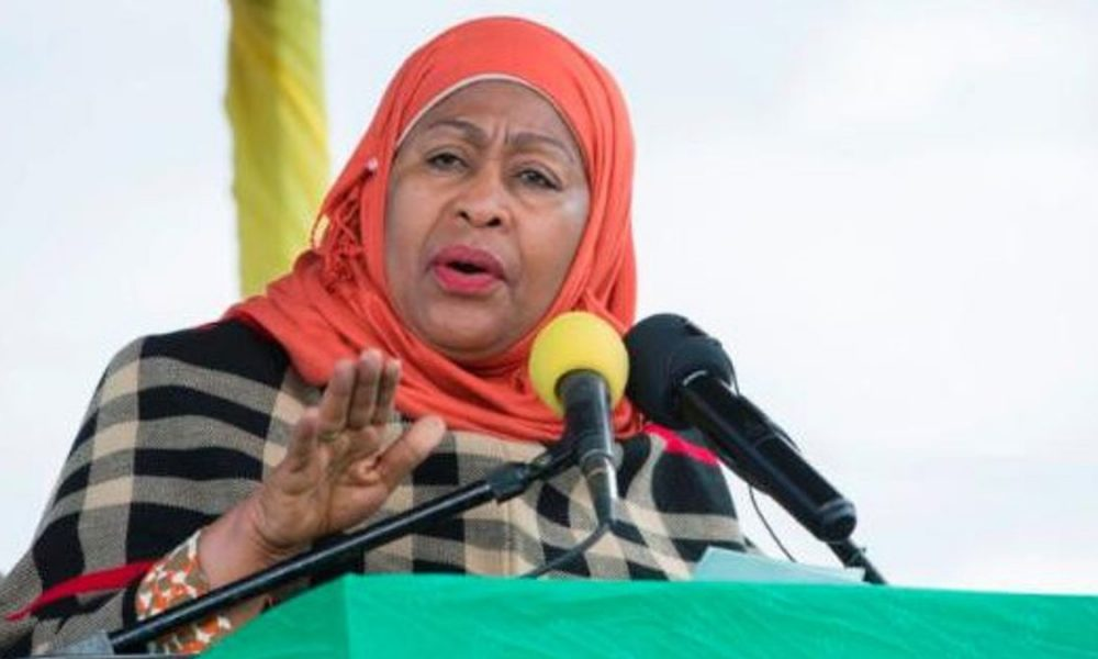 Suluhu Hassan Becomes First Female Tanzanian President
