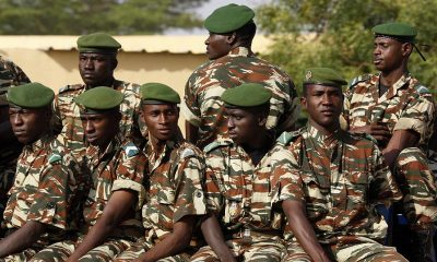 "Soldiers arrested in Niger after an ""attempted coup"" on Tuesday night and Wednesday"